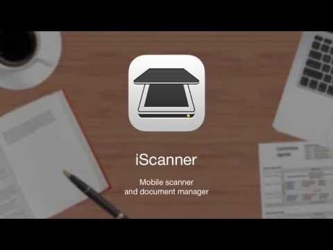 iScanner - PDF Document and receipt Scanner App for iPhone with OCR