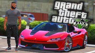 NEW 2016 Ferrari J50! - GTA 5 Real Hood Life - Day 65