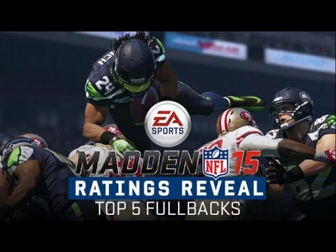 Madden 15 gameplay | Top Best Rated Fullbacks | Madden Ultimate Team | Online ranked match