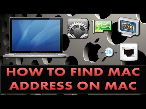 How to find your Mac address on a Macbook pro?