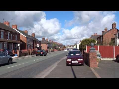 North Wales Police car on 999 emergency call Flint Flintshire Wales Cymru UK
