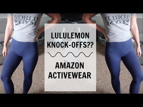 Amazon Activewear Try-On | Lululemon Dupes?!