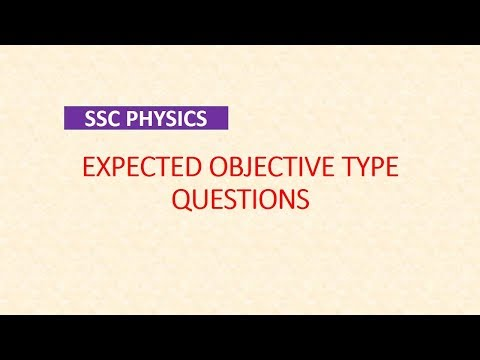 SSC scientific assistant exam physics Objective Type Q&A Part-5