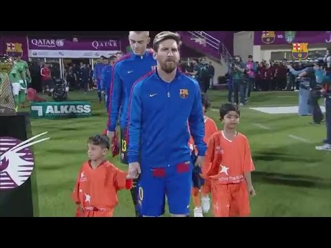 Boy Who Wore Lionel Messi Soccer Jersey Made Out of A Plastic Bag Meets His Idol