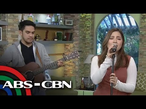UKG: Umagang Kantahan with Moira dela Torre with her single