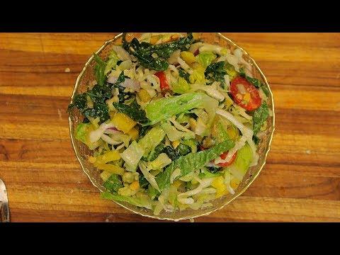 Cabbage Salad Recipe - healthy salad recipes - easy recipes - healthy salad recipes for weight loss