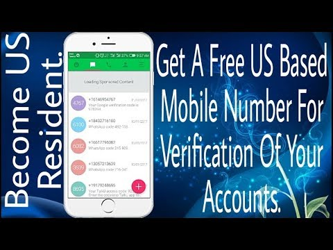 Get A Free US(United States) Mobile Number For Verification Of Your Accounts. || By Teach Me ||