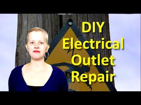 DIY Electrical Outlet Repair