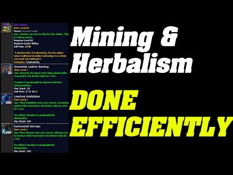 Legion : Mining & Herbing Done Efficiently | Tips & tricks |