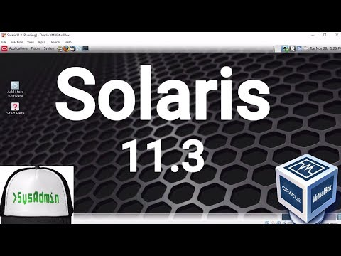 Solaris 11.3 Installation + Guest Additions + Overview on Oracle VirtualBox [2017]