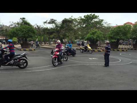 Get Your Vietnam Motorcycle Motorbike License - Practical Course