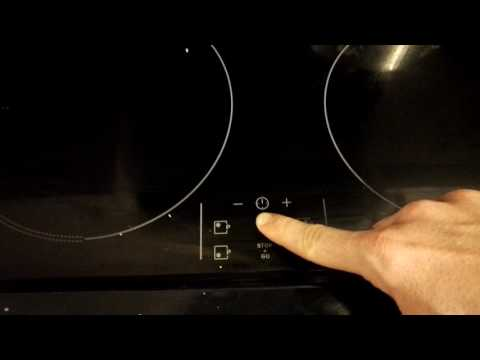 Unlock Zanussi induction hob