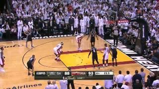 NBA Finals 2013 Game 7 Final minute