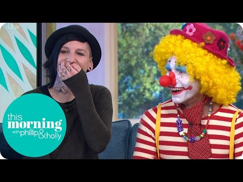 Viewer With Clown Phobia Faces Her Fears | This Morning