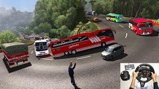 Kerala Maruti Body Build Bus Mod Euro Truck Simulator 2 ETS2