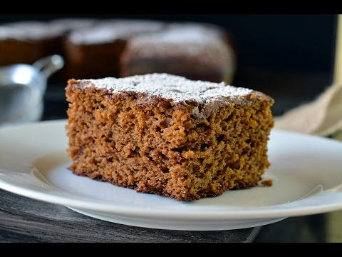 Old Fashioned Gingerbread Recipe | How To Make Gingerbread | SyS