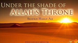 Under the Shade of Allah