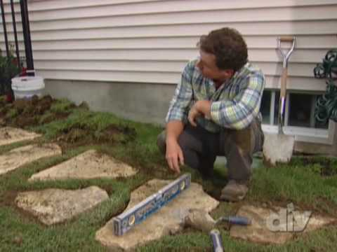 How to Install a Stone Walkway-DIY Network