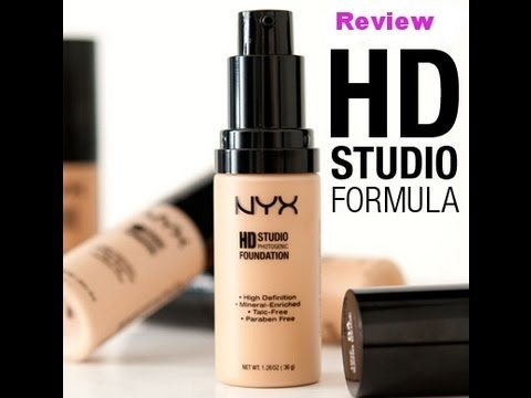 ♥ NYX Photogenic HD Foundation Review and Demo by Lyovera1 ♥