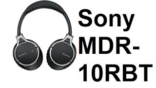 MDR-10RBT Headphones Unboxing from Sony