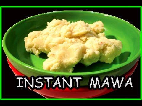 Instant milk powder mawa or Khoya   How to make  mawa at home in hindi by mangal