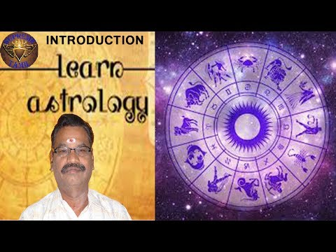 Learn Astrology in Tamil  -  Introduction (தமிழில் ஜோதிடம்)