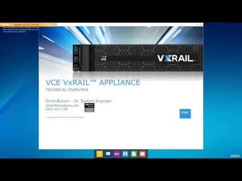 VxRail - Create vs Consume