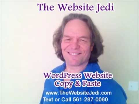 How to Cut, Copy and Paste using the keyboard - by the Website Jedi