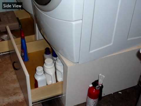 Laundry Pedestal Cabinets.mov