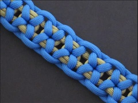 How to Make the Harbin Bar (Paracord) Bracelet by TIAT