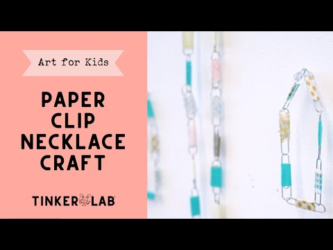 How to Make a Paper Clip Bracelet