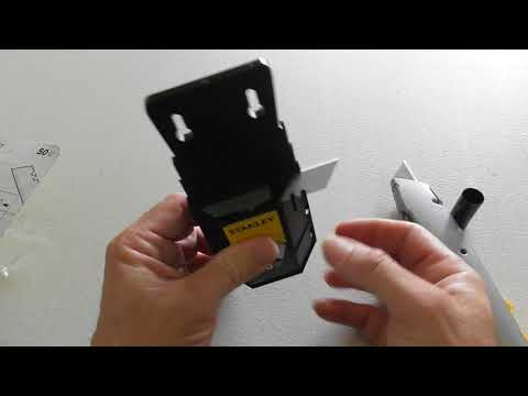 Stanley 11-921L 50-Pack Heavy Duty Utility Knife Box Cutter Blades with Dispenser REVIEW