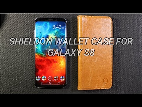 Galaxy S8 Shieldon Wallet Case