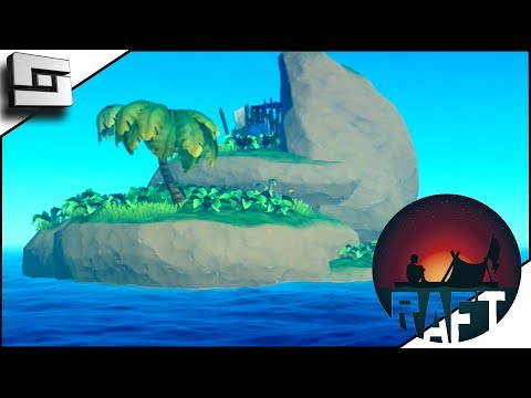 RAFT! Lost at Sea with New ISLANDS?! Ep 1/ Part 1