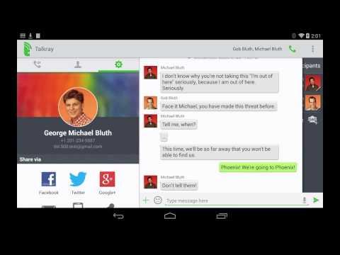 Talkray - Free Calls and Text Android