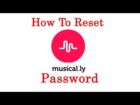 How to reset your musical.ly forgotten  password 2017 {without email}