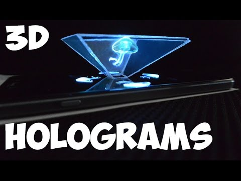 3D Holograms out of any smartphone