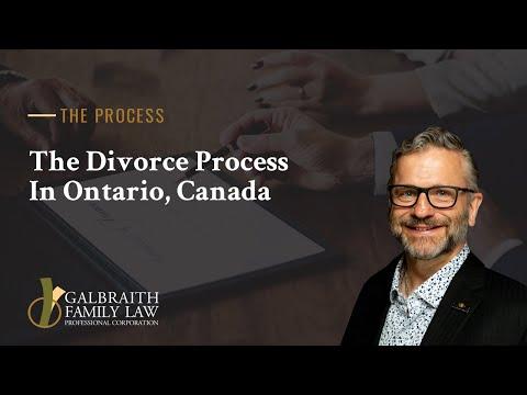 The Divorce Process In Ontario, Canada
