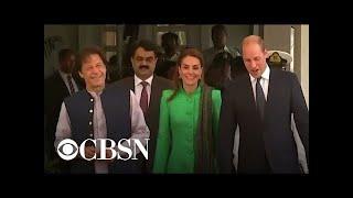 Prince WIlliam and Kate visit Imran Khan in Pakistan