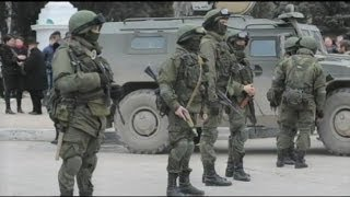 Russian Forces Officially Enter the Crimea Region of Ukraine