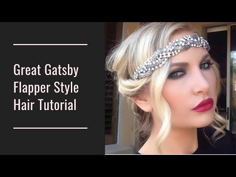 Great Gatsby/Flapper Hair tutorial