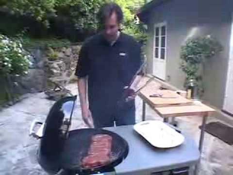 Ribeye Steak on a Weber Kettle