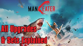 Maneater - All Upgrades & Sets Explained