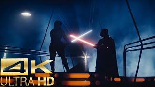 Darth Vader vs Luke Skywalker [4k UltraHD] - Star Wars: The Empire Strikes Back Fight Scene (1/2)