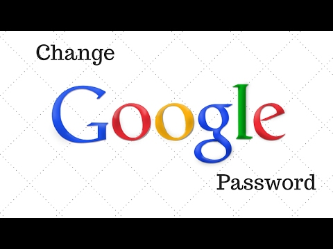 How to Change Password in Google Account - With Gmail Password