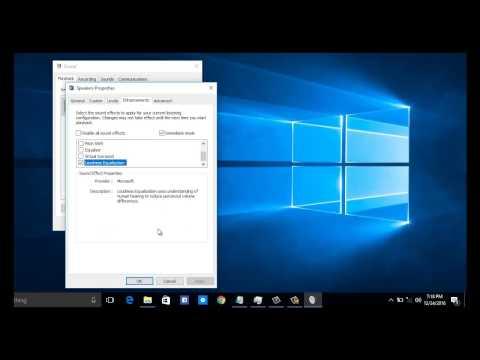 Windows 10 - How to Increase Volume
