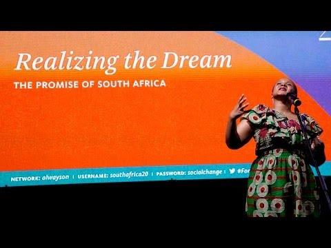 Performance: Lebogang Mashile