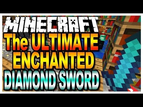 HOW TO GET AMAZING ENCHANTMENTS ON A SWORD IN MINECRAFT!