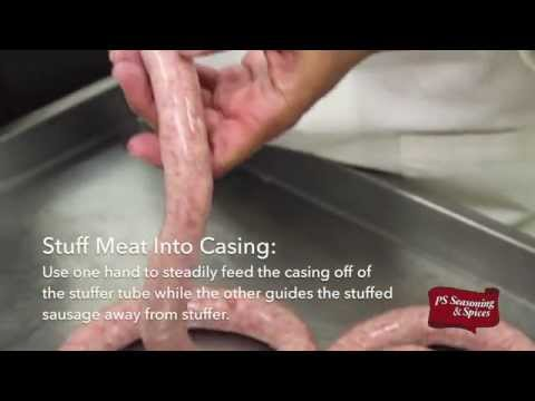 How To: Make Fresh Bratwurst