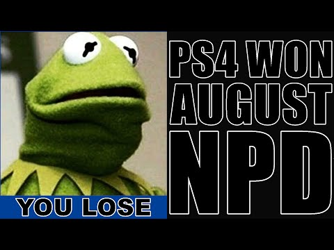 PS4 killed Xbox One in August NPD